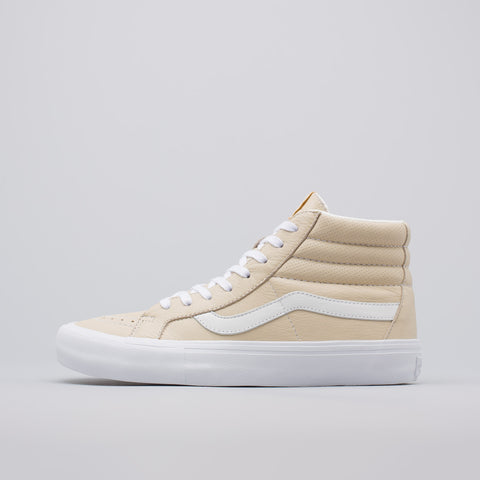 Vans Vault SK8-Hi Reissue VL Italian Leather in Marmo - Notre
