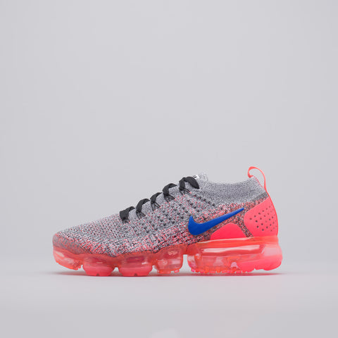 Nike Women's Air Vapormax Flyknit 2 in White/Ultramarine - Notre