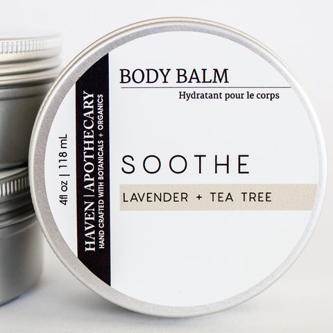 BODY BALM Lavender + Tea Tree - No.4