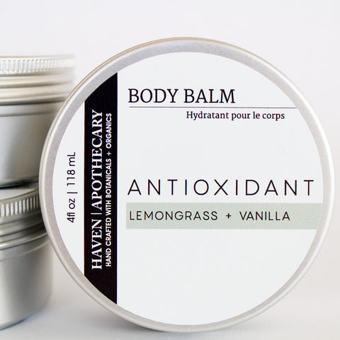 BODY BALM Lemongrass + Vanilla - No.4