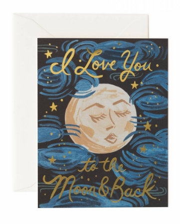 I Love You to the Moon and Back - Rifle Paper Co.
