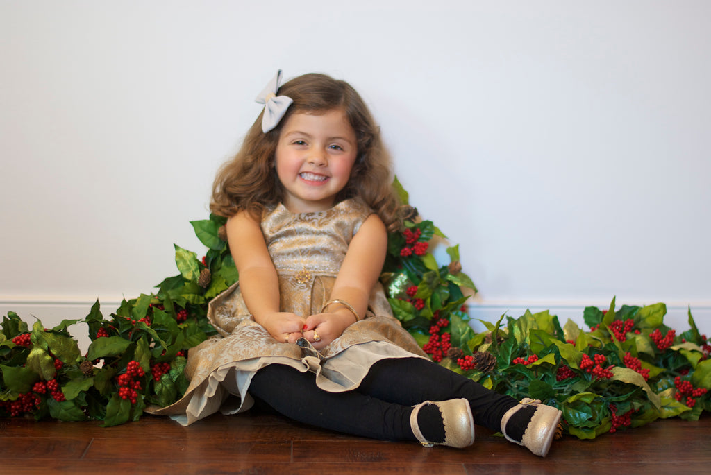 holiday 2015 vintage girls outfit