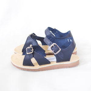 Stevie Sandal in Navy | Sample Sale