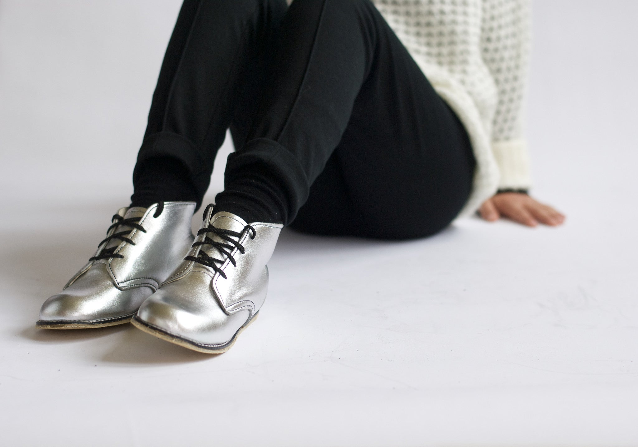 Milo Boot in Silver - Sizes 4-12 - Medium Width
