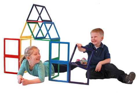 *New!* Rainbow Dream Builder™ 19 piece set