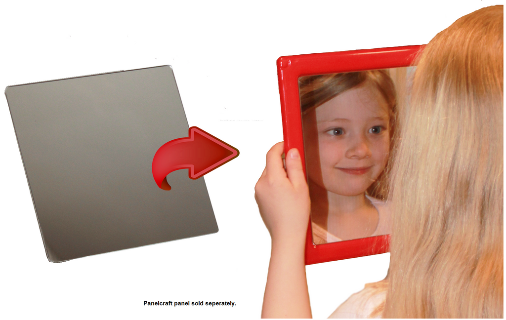 *NEW* 1-Pack Plastic Mirror Insert!