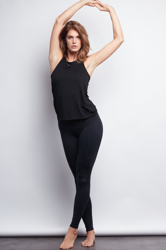 Black Contour Legging - Plus Size