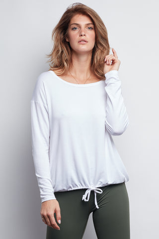 White Leah Top - Haven Collective