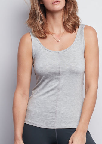 Heather Grey Essential Tank