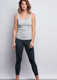 Grey Sculpt 7/8 Legging - Haven Collective