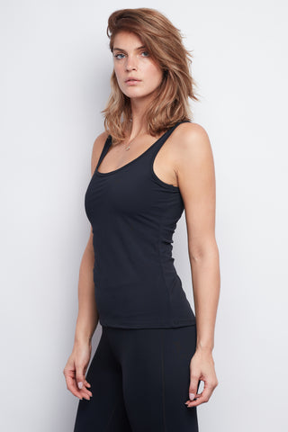 Black Sculpt Tank - Haven Collective