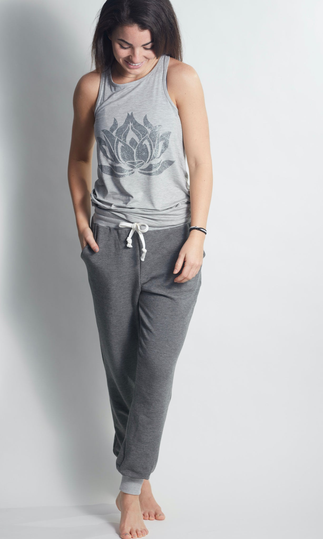 Forever HEATHER GREY Sweatpants