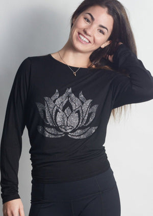 Sparkle LOTUS Black Camille Long Sleeve