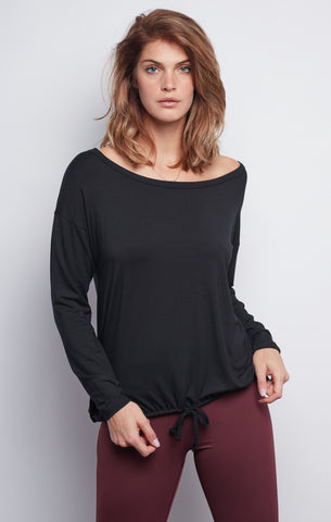 Black Leah Top - Haven Collective