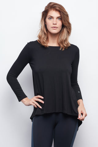 Black Camille Long Sleeve