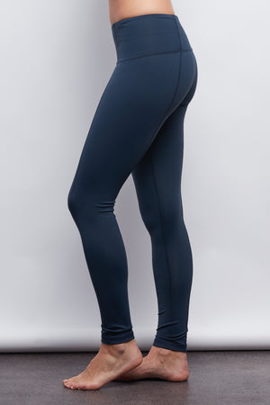 Navy Contour Legging - Haven Collective