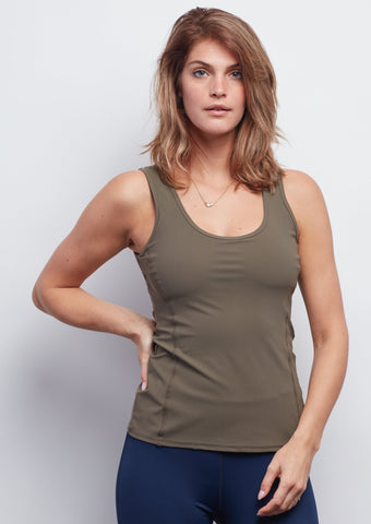 Army Contour Tank - Haven Collective