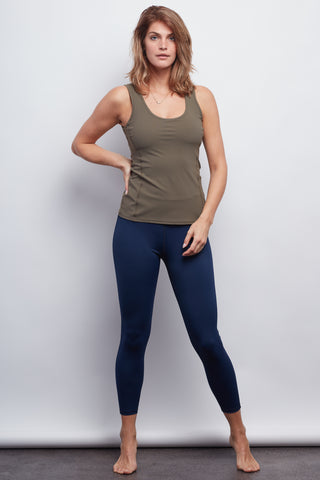 Nautical Navy Sculpt 7/8 Legging