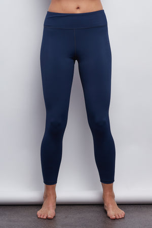 Nautical Navy Sculpt 7/8 Legging - Haven Collective
