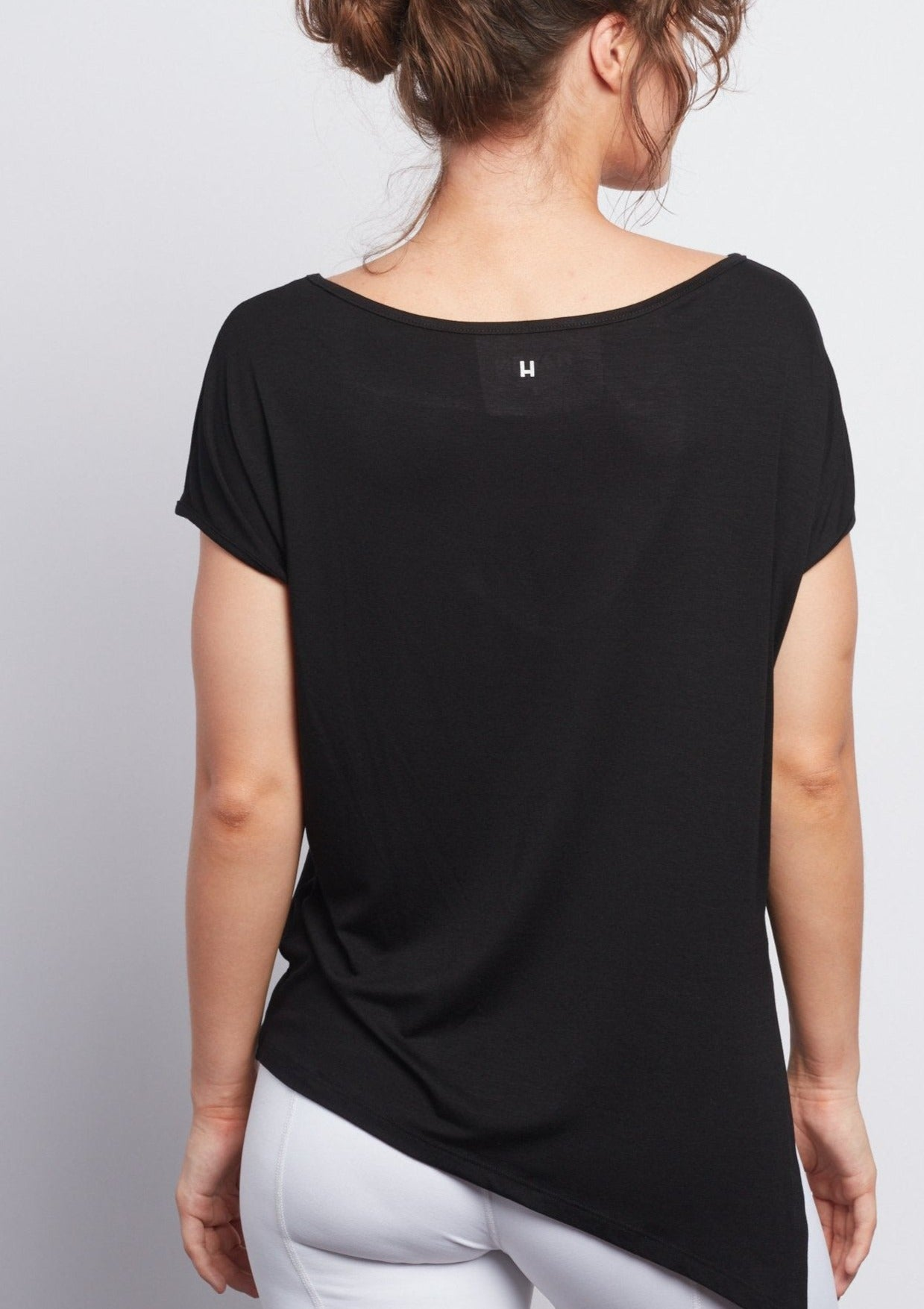 BLACK LOTUS  Boxy Tee - Haven Collective