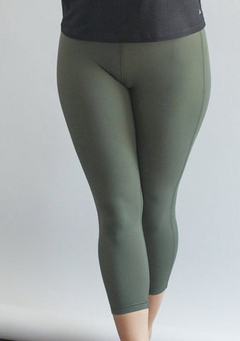 Sage Sculpt Crop Legging - Haven Collective