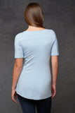 Pale Blue Creative Tee [Bamboo] - Haven Collective