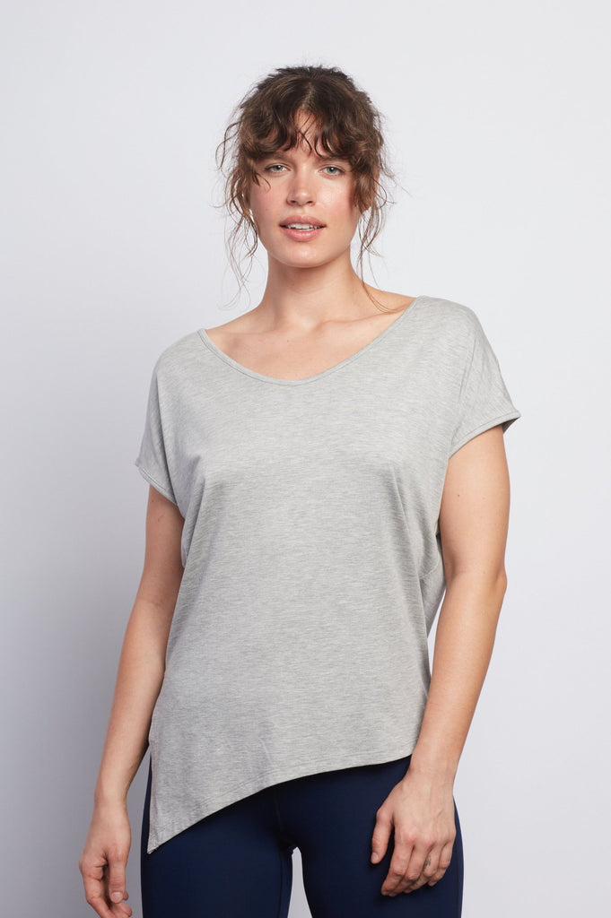 Heather Grey Boxy Tee