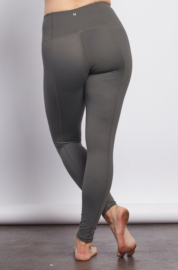 Grey Contour Legging - Haven Collective