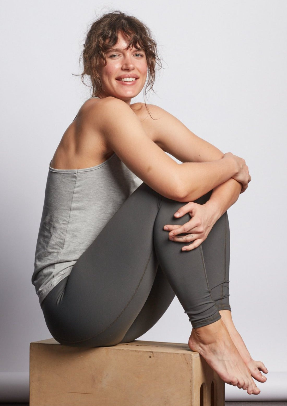 Slate Contour Legging - Haven Collective