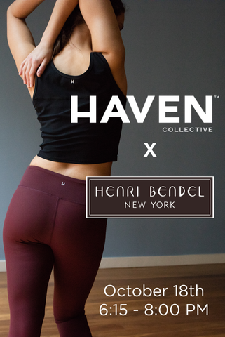 #FINDYOURHAVEN at Henri Bendel (October 18)
