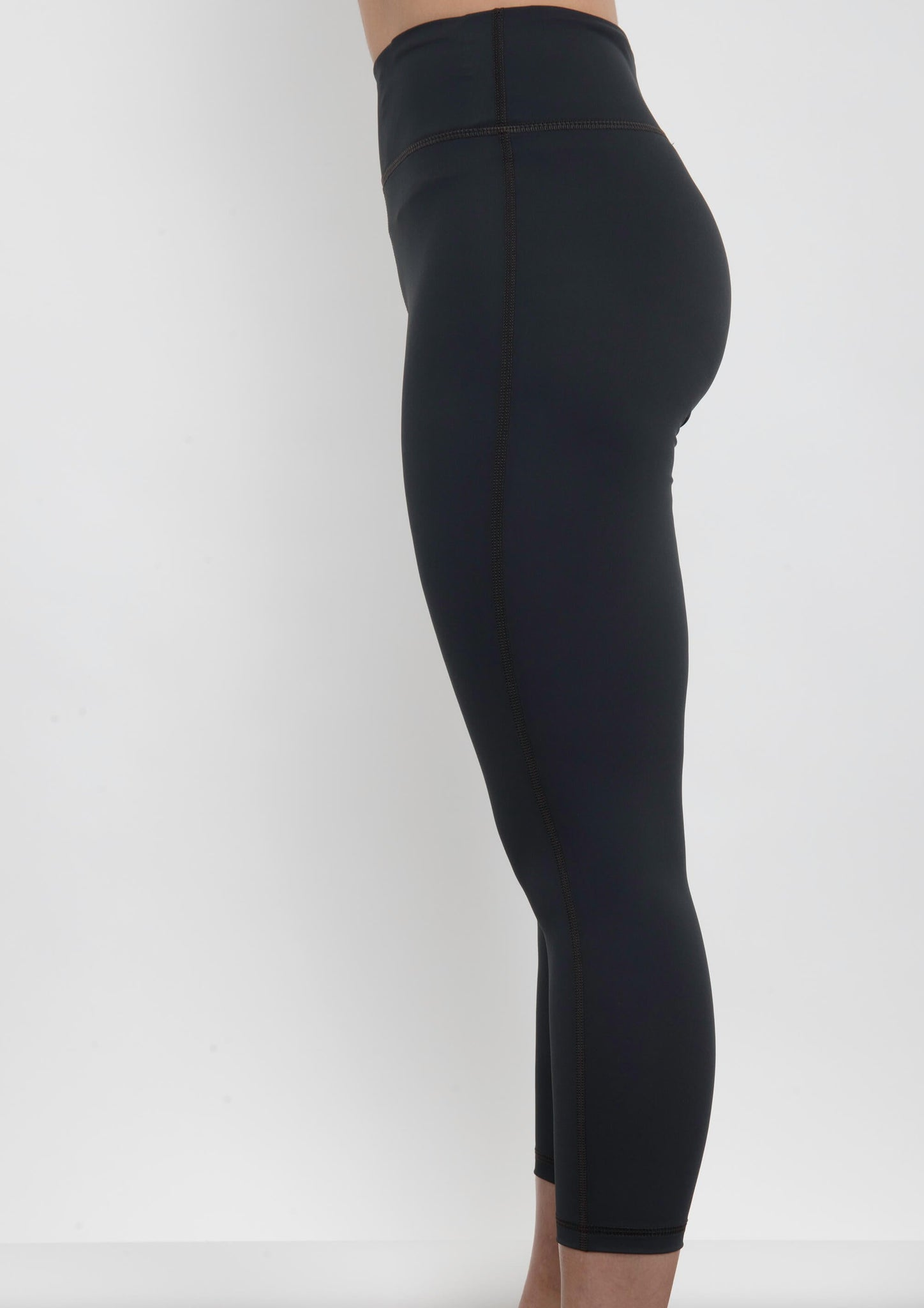 Grey Sculpt Crop Legging - Haven Collective