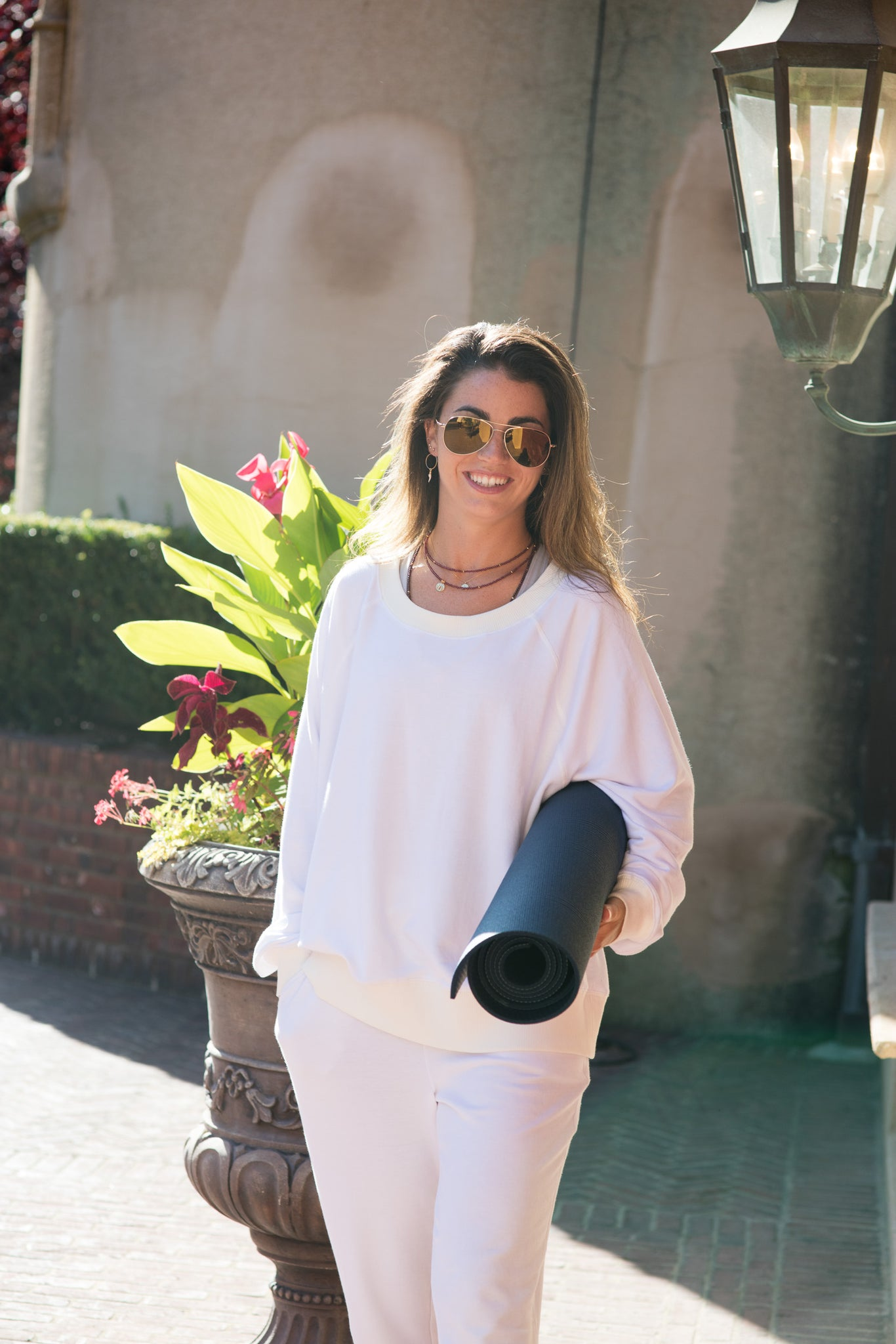Forever ALL WHITE Sweatshirt - Haven Collective