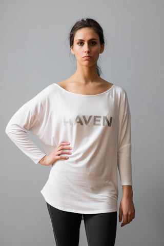 White H-Series Asymmetric Top