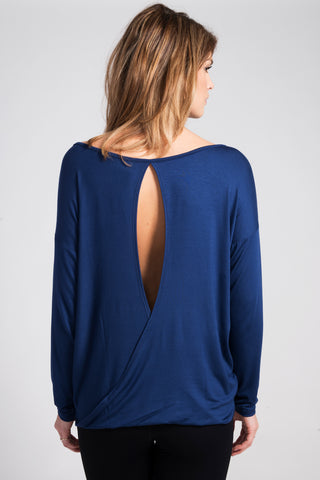 Blue Chloe Open-Back - Haven Collective