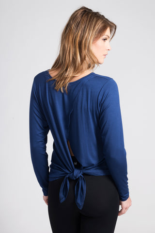 Blue Camille Long Sleeve - Haven Collective