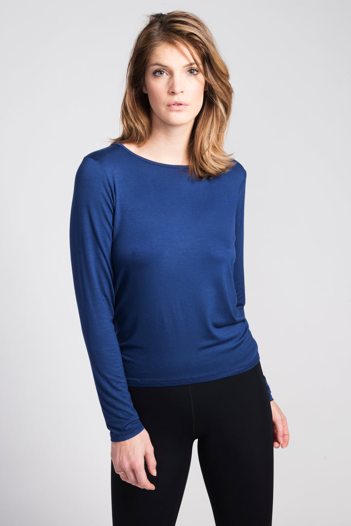 Blue Camille Long Sleeve