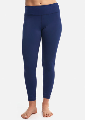 Blue Sculpt 7/8 Legging - Haven Collective