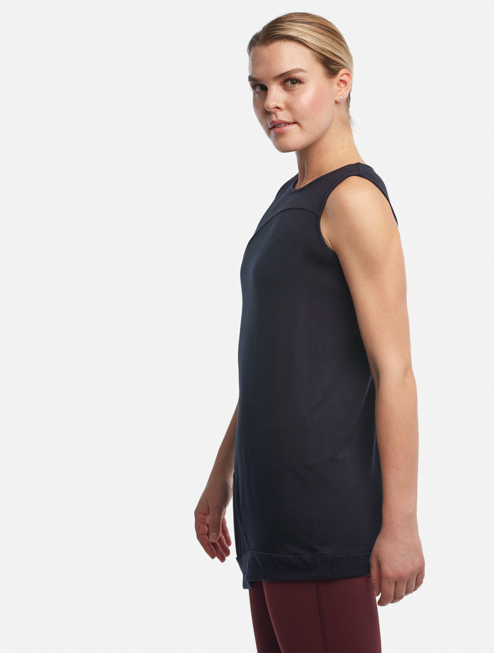 Black Circle Tank [Bamboo] - Haven Collective