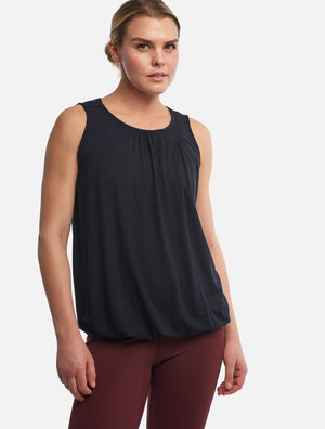 Black Gala Tank [Bamboo] - Haven Collective