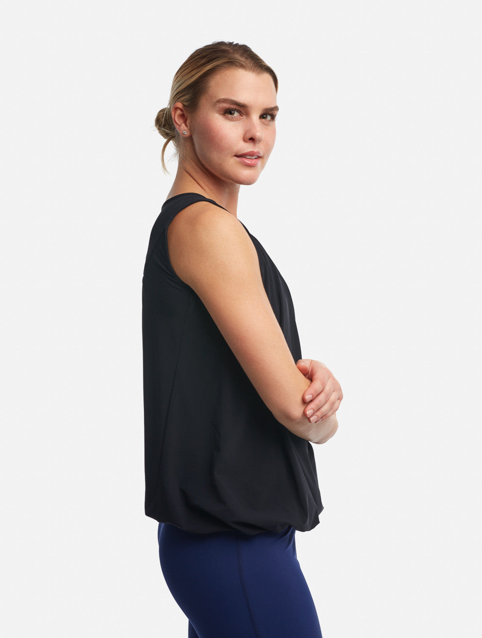 Black Gala Tank [Performance Jersey] - Haven Collective