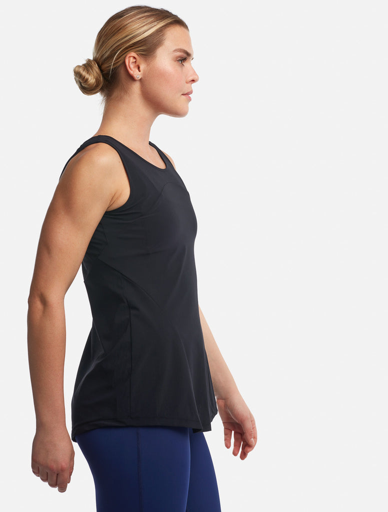 Black Bartlett Tank [Performance Jersey]