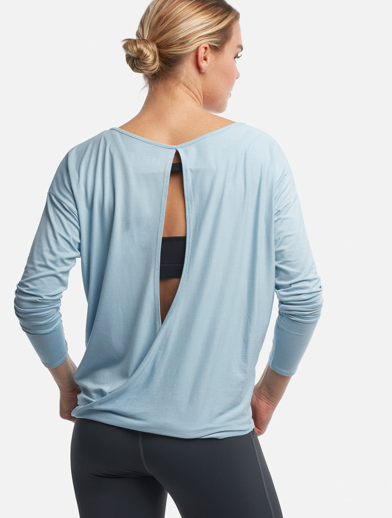 Pale Blue Chloe Open-Back - Haven Collective