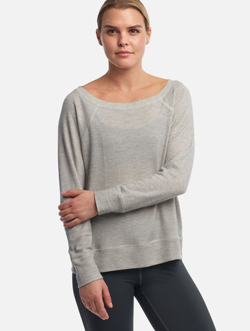 Dove Grey Beau Pullover [Waffle MicroModal]