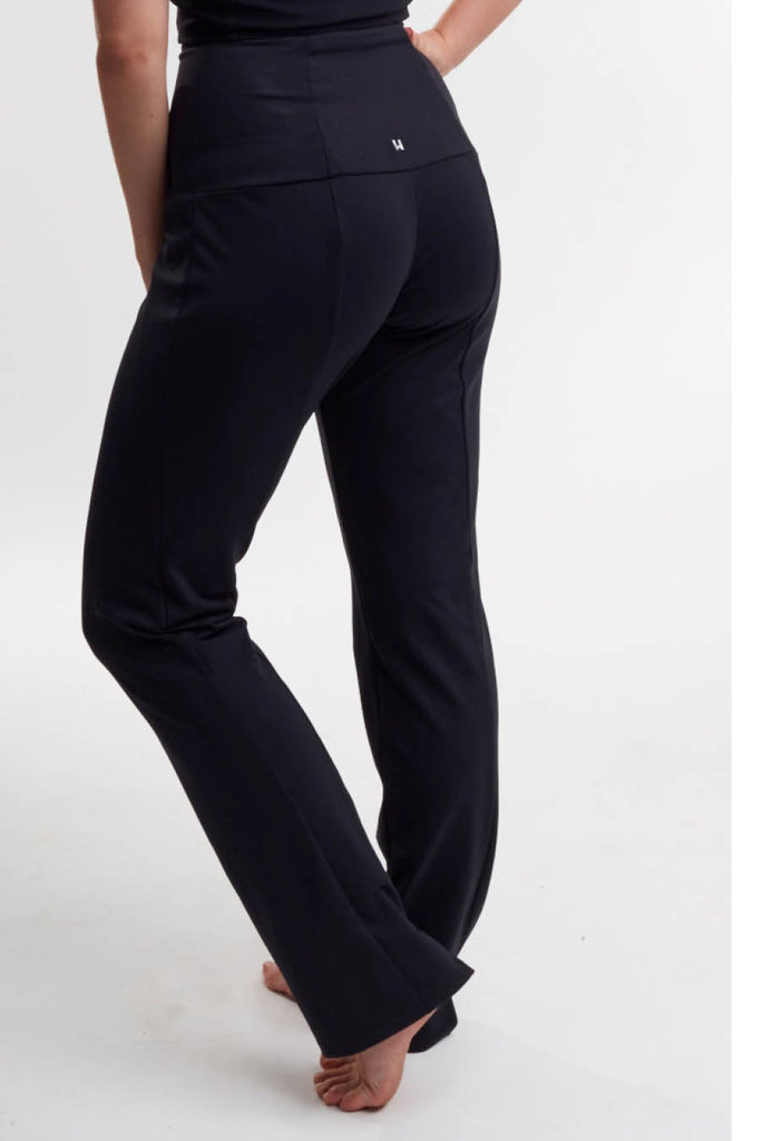 Black Dancer Pant [Tech-Nylon] - Haven Collective