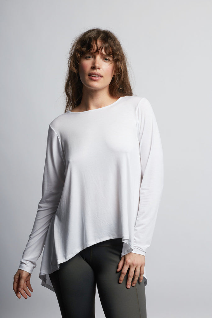 White Camille Long Sleeve - Haven Collective