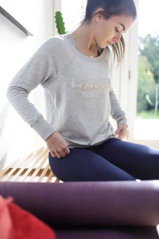 Heather Grey HAVEN Signature Sweatshirt