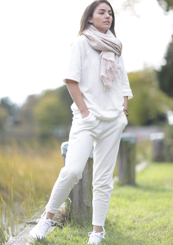 Ivory Leah Pants - Haven Collective