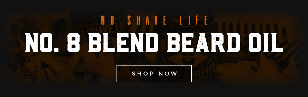 No Shave Life Beard Oil CTA