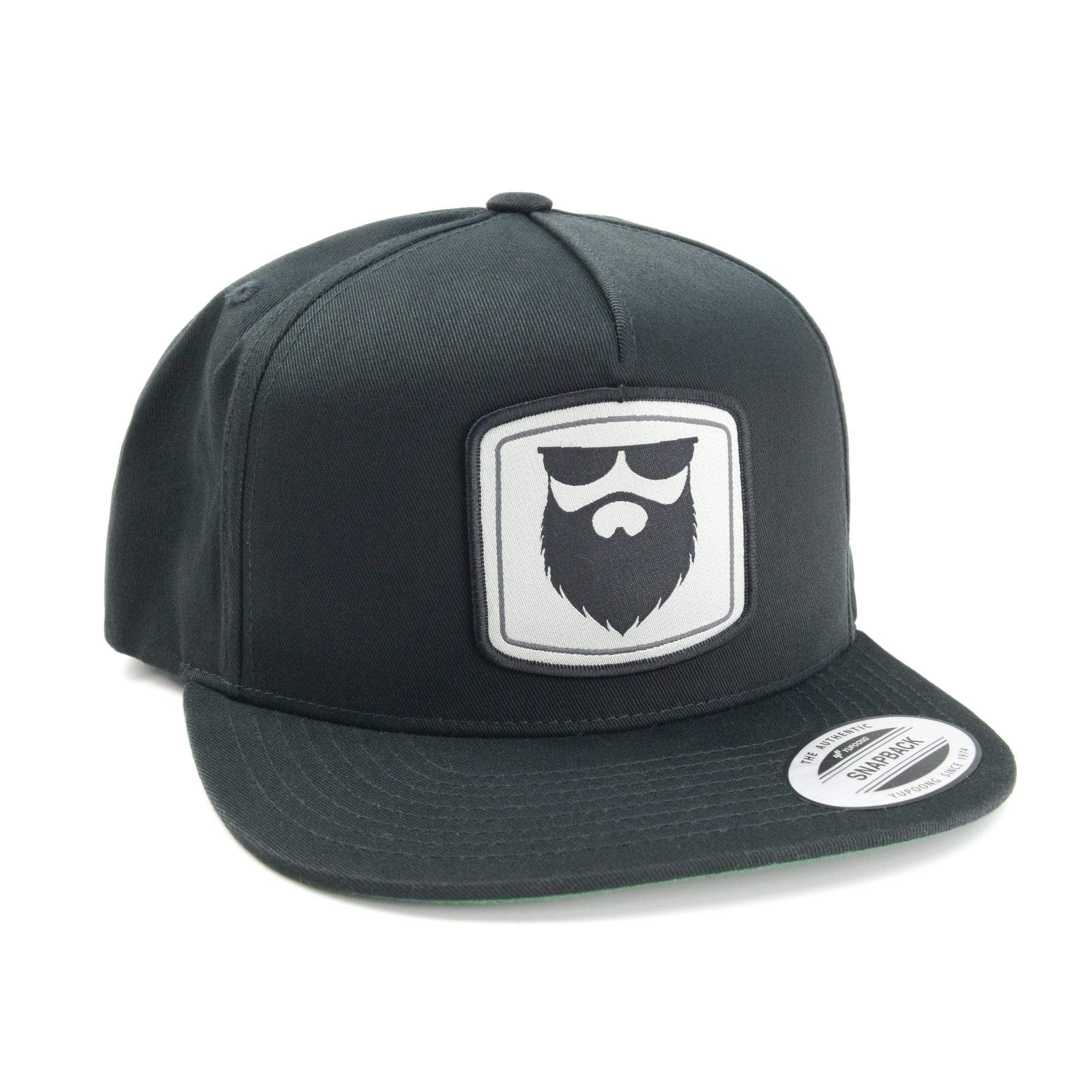 NSL Beard Gear Snapback - Black