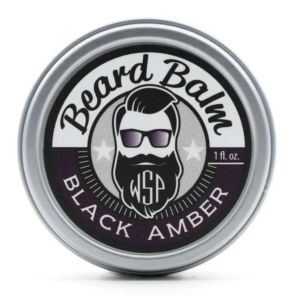 Black Amber Beard Balm 1 oz.